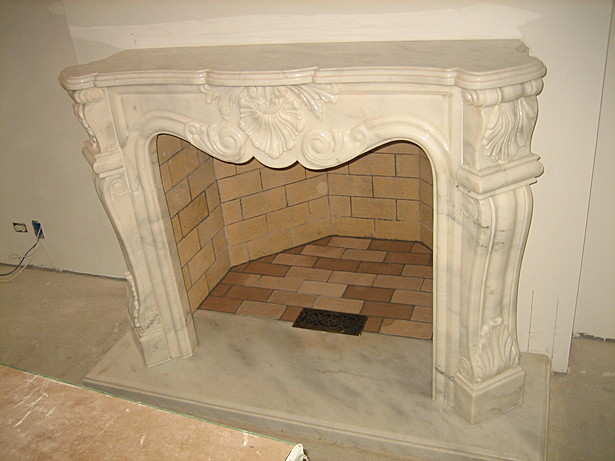 Marble Chimney in the Formal room