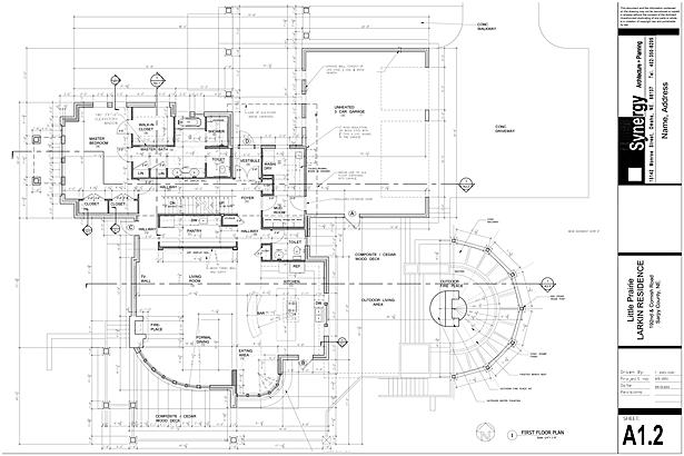Plan - Synergy Architect + Planning