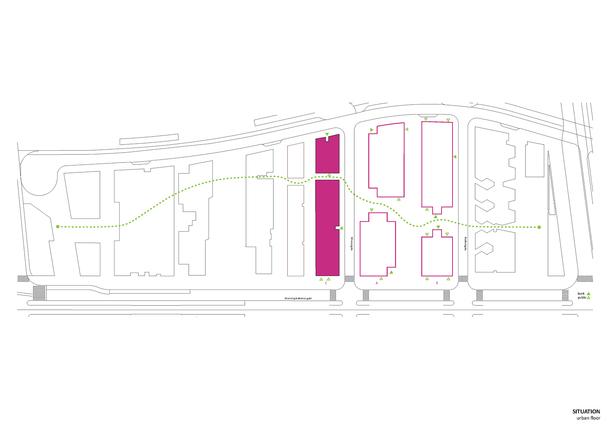Situation/Urban floor. Copyright © Dark Arkitekter