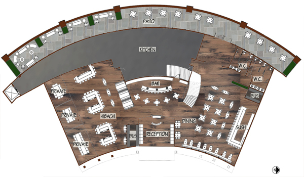 Wasabi Rendered Floor Plan- Level 1.