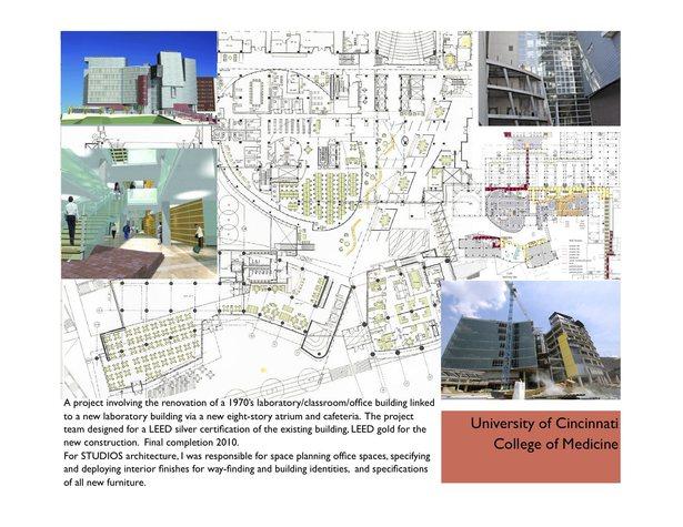 University Of Cincinnati Care Crawley Building Allen Foster Archinect