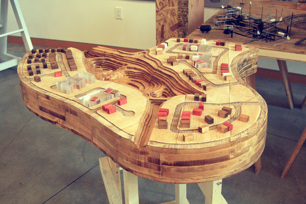Site Model (Solid Wood)