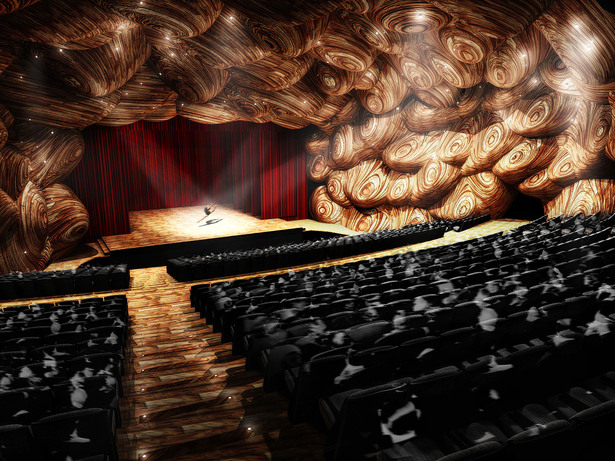 Theater interior view