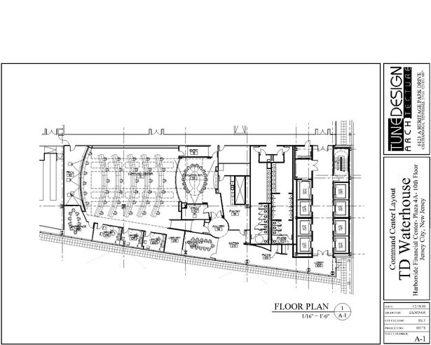 Command Center Floor Plan
