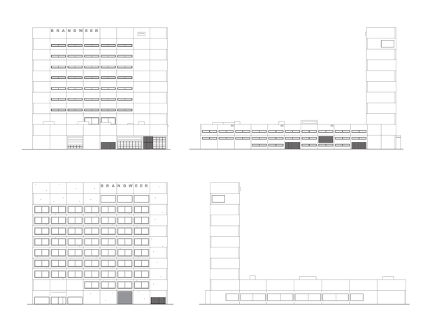 Claus en Kaan Architecten / Elevations