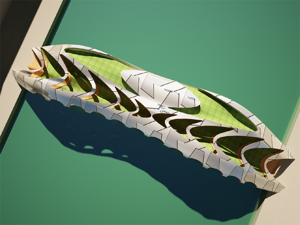 Design 3d model in rhinoceros and rendered in 3d max with v-ray plugin