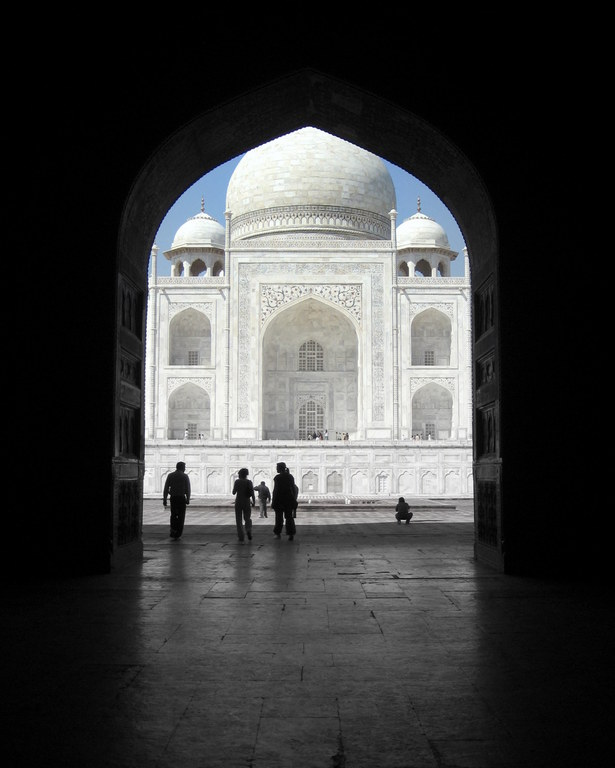 The Taj: Agra, India