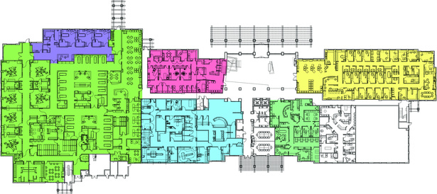 1st Floor plan of two