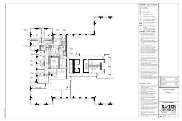 VCA Construction Plan