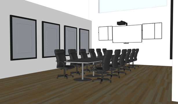 Community flexible meeting spaces