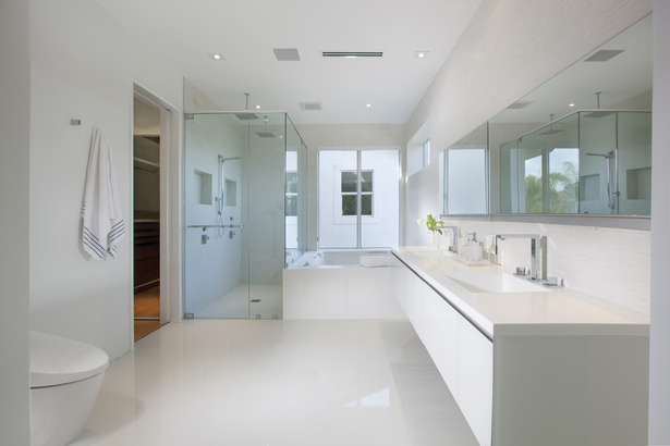 Master bathroom - Miami Interior Design