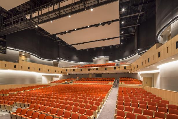Auditorium (photo: Tim Griffith)