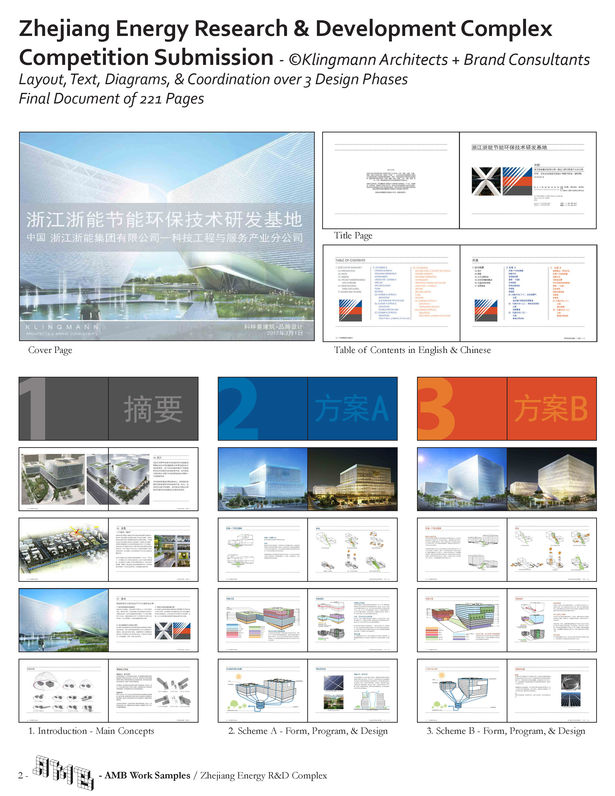 International Design Competition Submission - Zhejiang Energy Research and Development Complex