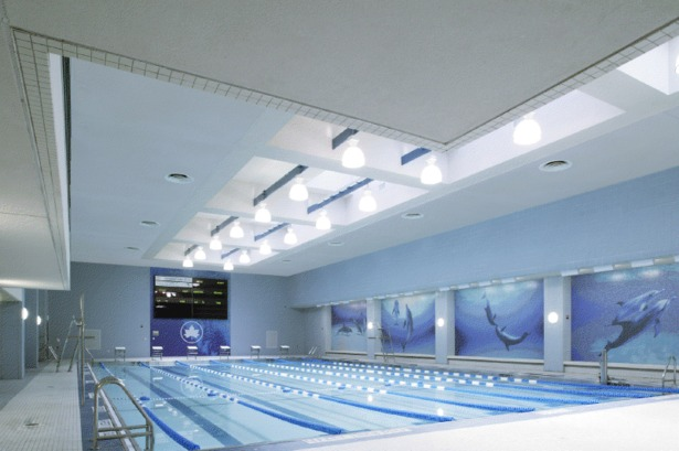 The Chelsea Recreation Center pool.