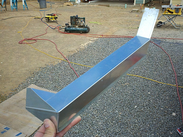 Bending and Placing Drip Edge