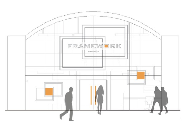 Exterior of Frameworks Studio