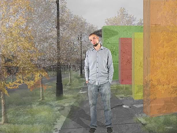 Transect #4 - Sidewalks