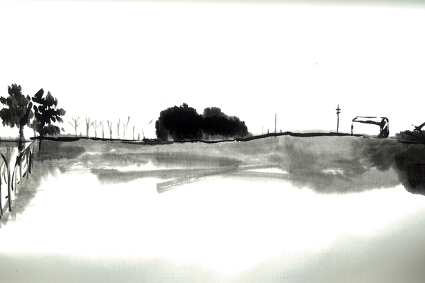 Sketch 1 - site before construction