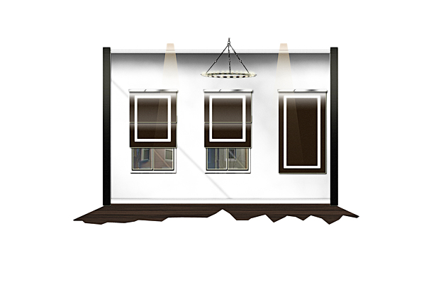MASTER SUITE WINDOW WALL