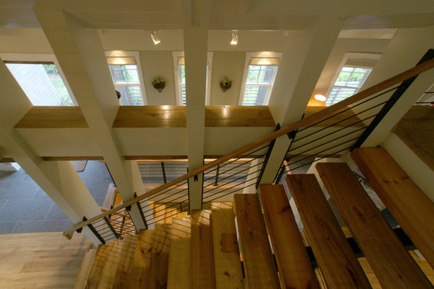 Madaket Modern Stair. Photo: T.G. Olcott