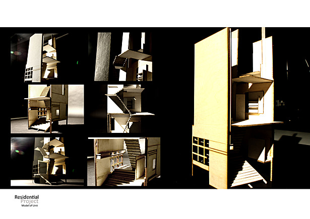 Model of a residential Unit