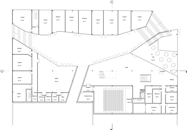 Courtyard Level Plan