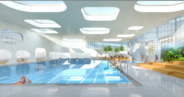 Swimming Pool Feng Shui Mikou Design Studio Archinect
