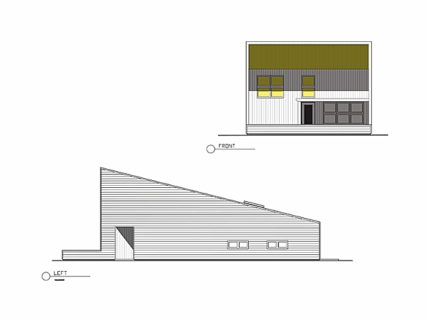 PatioHouse Elevation