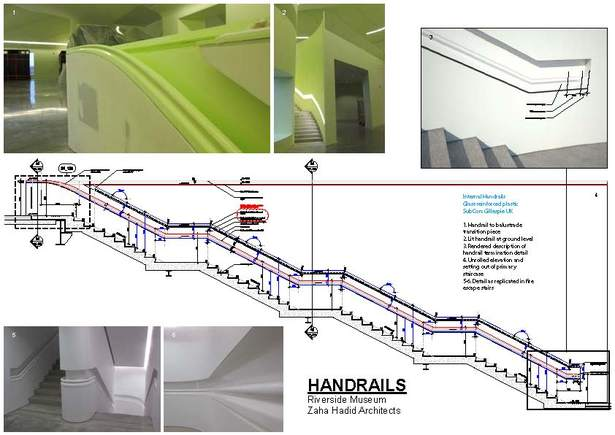 Front of house handrails package