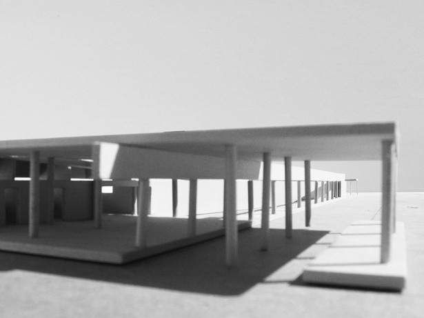 model view from back
