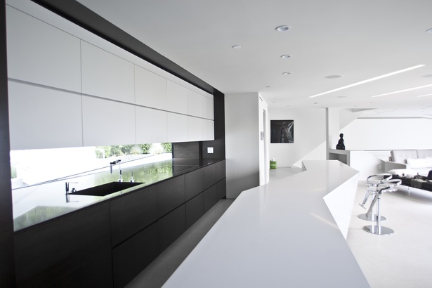 Custom designed kitchen cabintery with integrated appliances (photo: Arshia Mahmoodi)