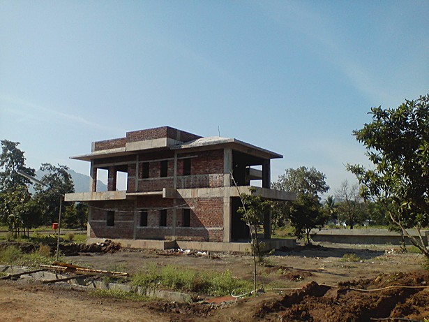 Club House under Construction