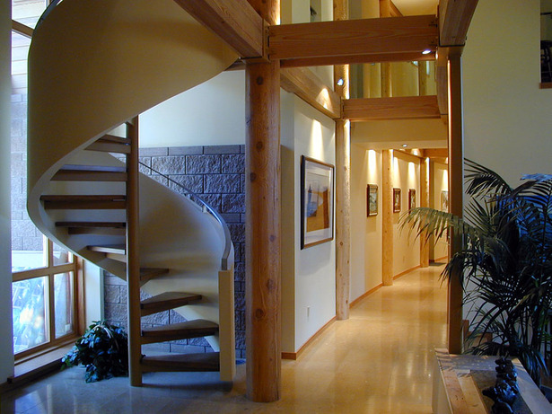 Interior Stair at Entry