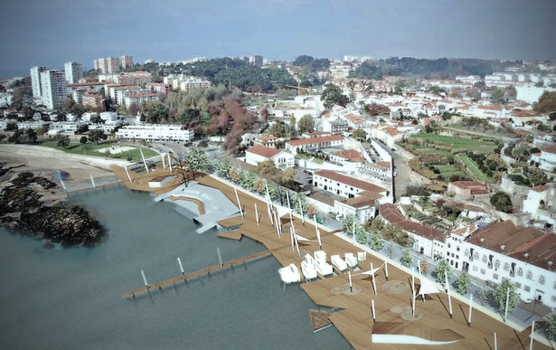 Urban Upgrading of Estaleiro do Ouro Porto Dockyard