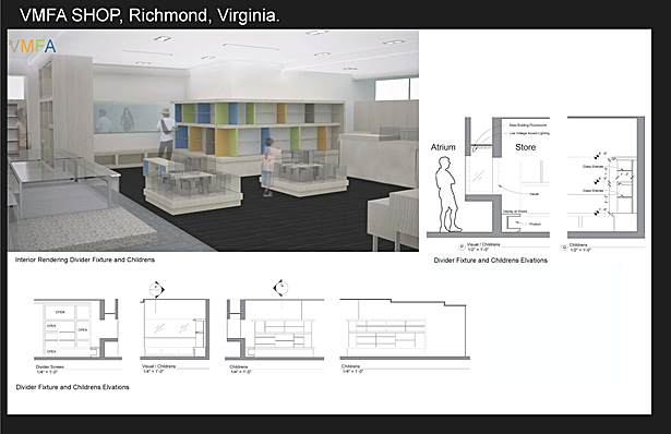 Retail Shop for Virginia Museum of Fine Arts