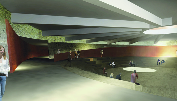Interior of Amphitheater