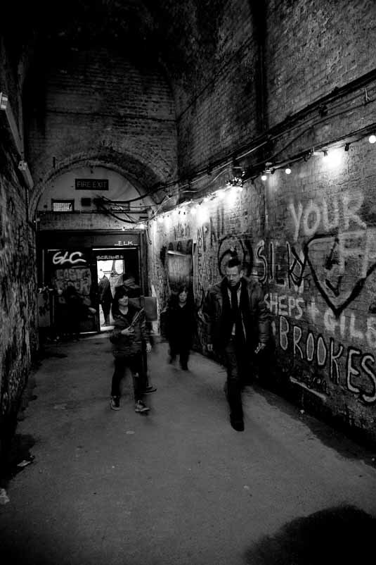 Banksy Tunnel, Entrance from Leake Street