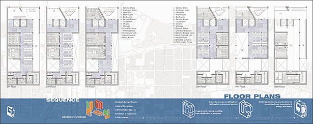 CARTA Downtown Floor Plans