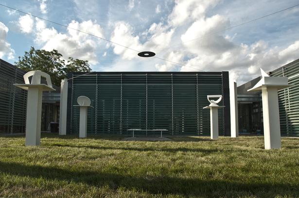 Final Photo South Existing Dale Eldridge Sundial Sculpture