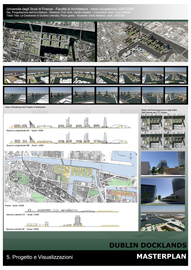 Thesis for M.Arch Projecting and Urban Planning (part of work)