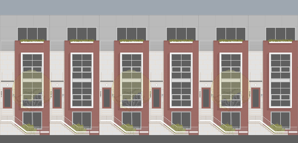 Dean Pacific Street Homes (proposal)