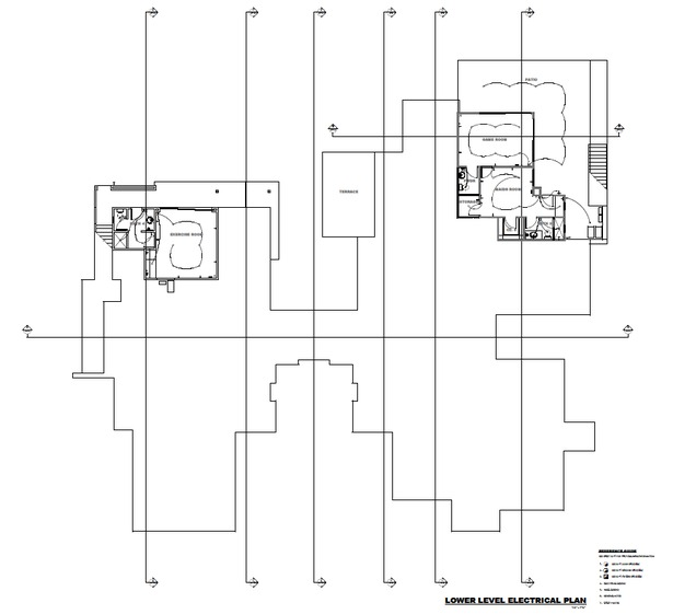 Lower Level Electrical Plan