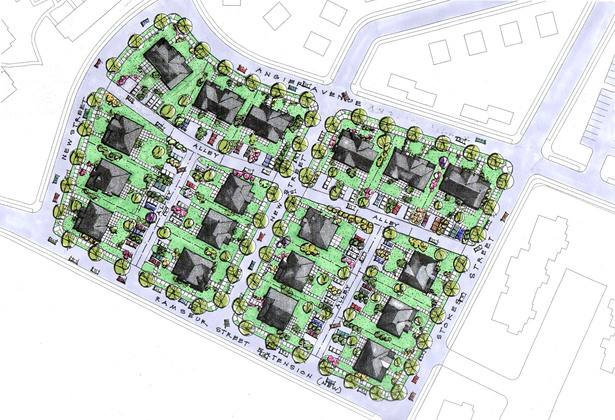 Hope VI Neighborhood Plan- Durham NC
