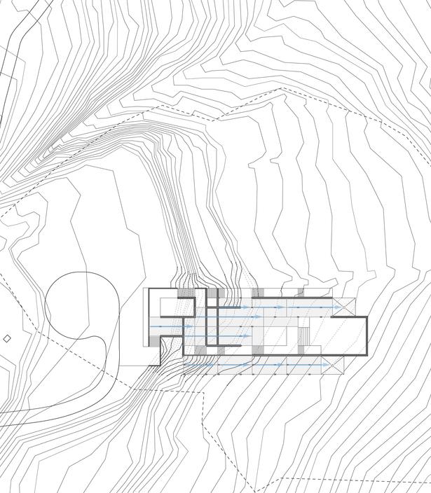 site plan (Rhino 3D, Adobe Illustrator)