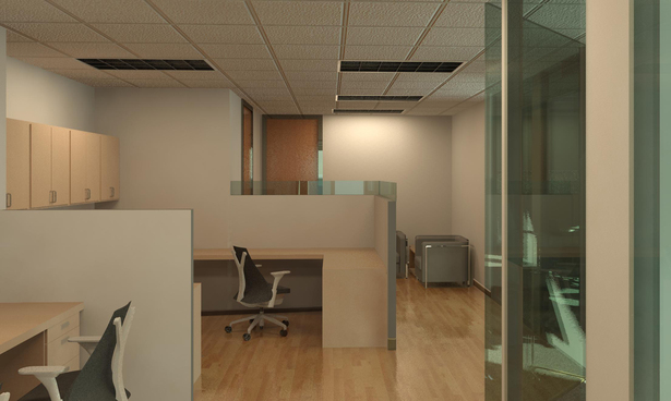 Reception/ Work Area - Scheme 2