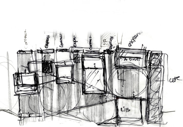 Conceptual section sketch