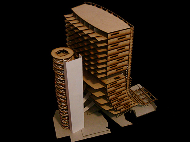 Laser Cut Model
