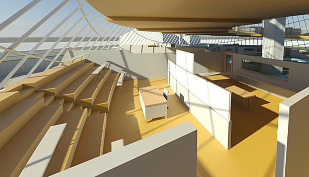 Campus International School proposal classroom cluster.