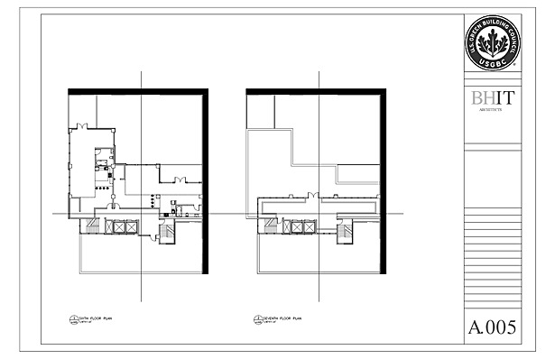Sixth and Seventh Floor Plans