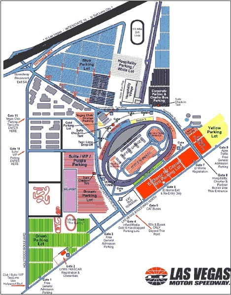 Las Vegas Motor Speedway - Site